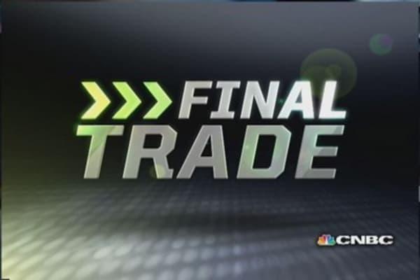 FMHR Final Trade: STI, HUN, PFF