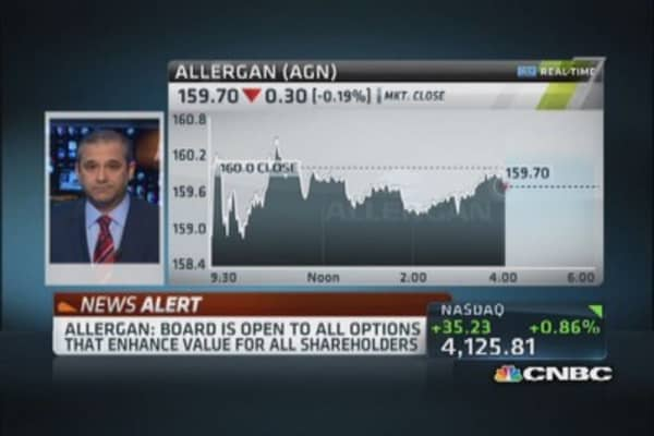 Allergan fires back at Ackman