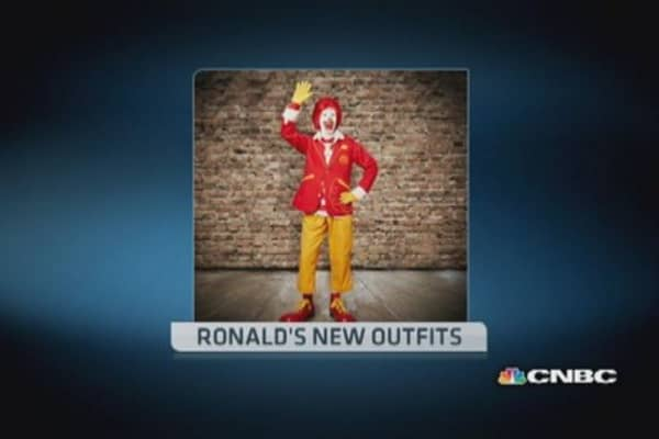 McDonald's 'creepy' new mascot