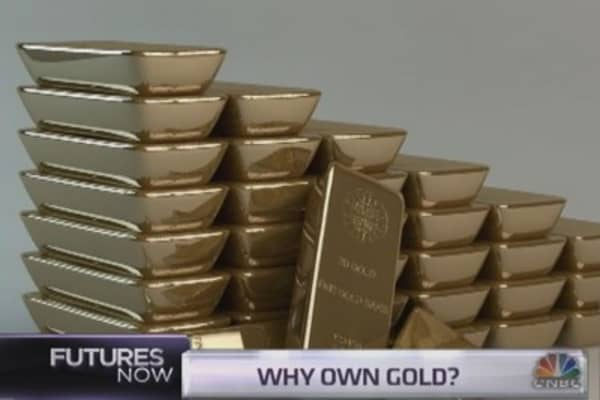 Traders make the case for gold