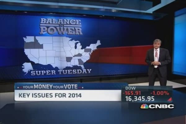 Your Money Your Vote: 2014 issues