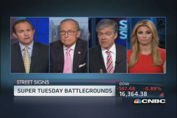 Super Tuesday battleground