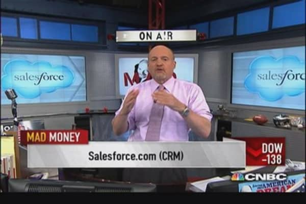 Salesforce.com CEO: Great quarter