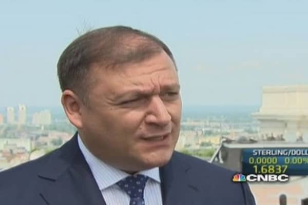 Ukraine should work with Russia too: Dobkin