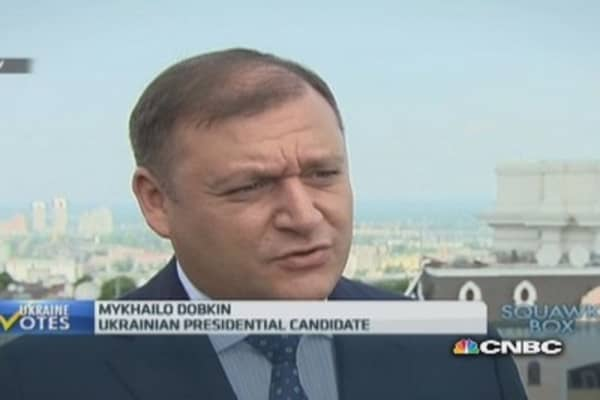 Crimea is still part of Ukraine: Dobkin