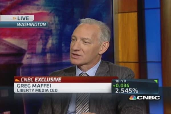 CEO Maffei: Charter & Liberty not frustrated by TWC deal