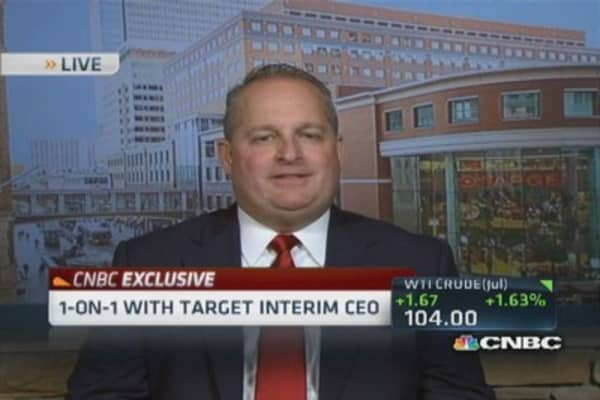 Target interim CEO: Canadian guests responding better