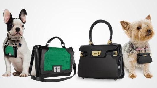 Your own handbag plus a miniature replica 'pawbag' for your pooch.
