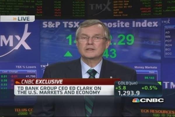 TD Bank CEO bullish on US economy