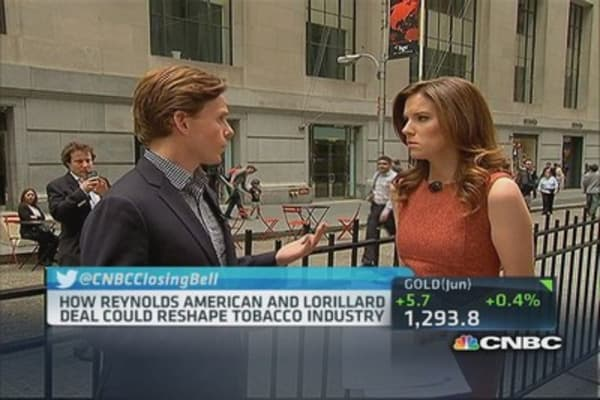 Reynolds American, Lorillard deal up in smoke?