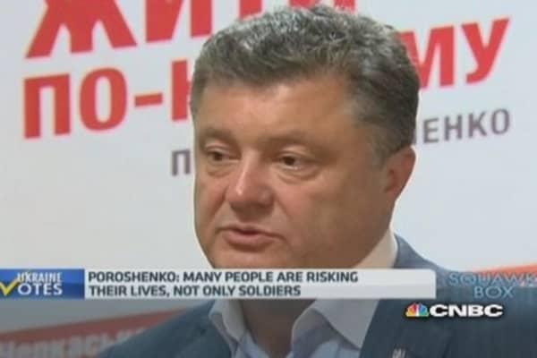 Russia is unpredictable: Poroshenko