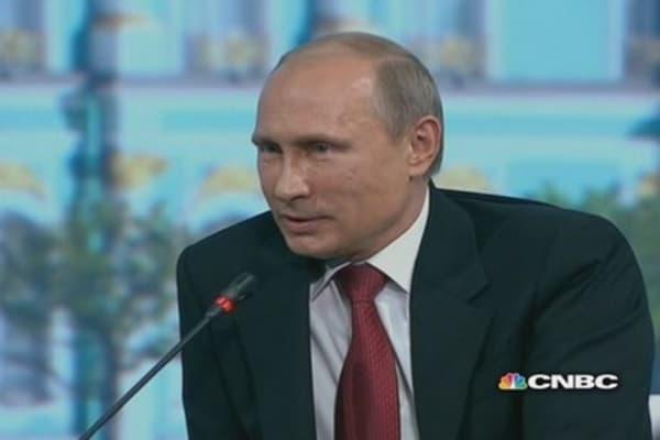 Putin calls CNBC's Geoff Cutmore 'scary'