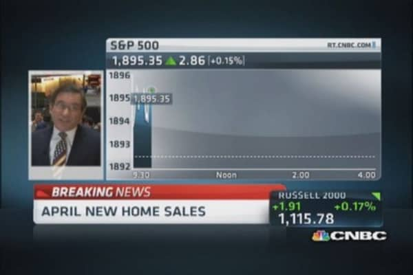 April new home sales up 6.4%