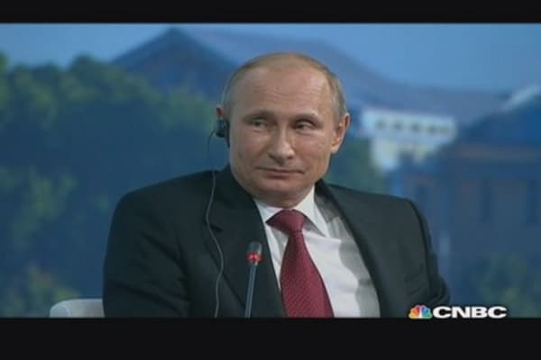 Vlad the invader: Putin on Ukraine, sanctions & Obama