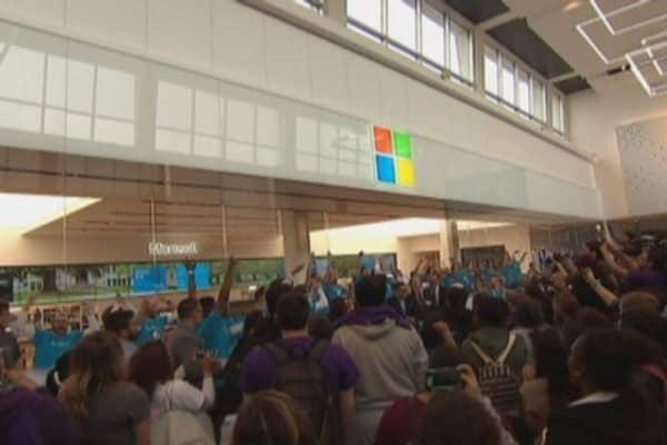 Microsoft's retail challenge