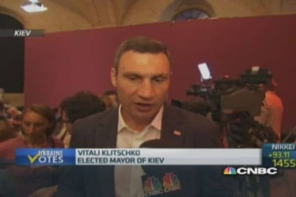 Ukraine must reform quickly: Klitschko