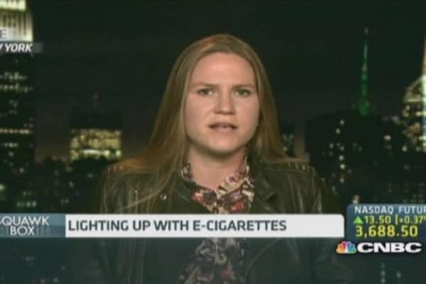 E-cigarette debate: A case of misunderstanding?