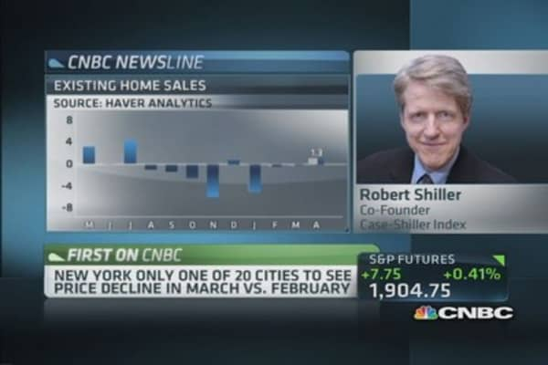 Robert Shiller: Mortgage rates may spur market