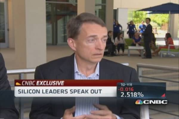 VMware CEO: No reunification with EMC