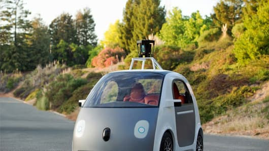 Google's driverless car prototype