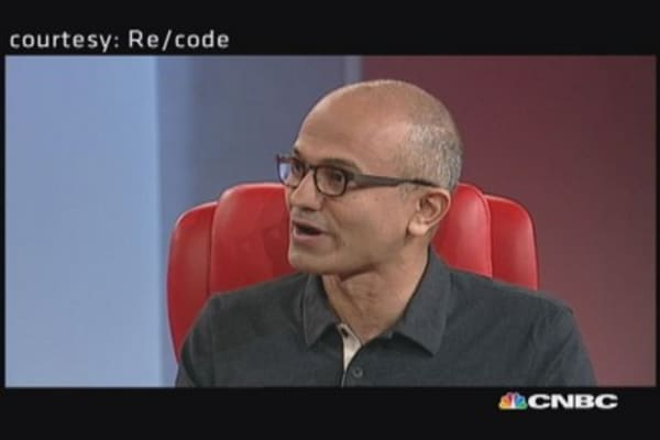 Microsoft CEO on a 'post-post PC world'