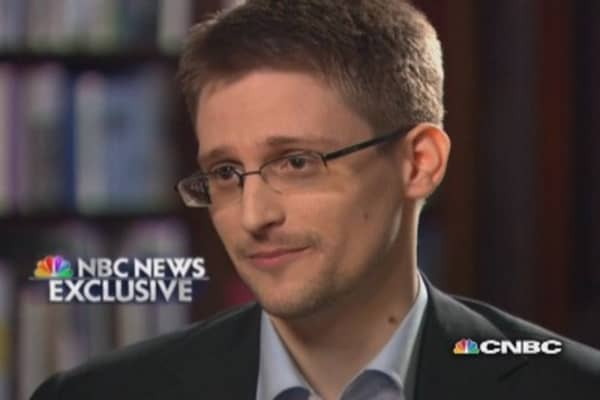 Snowden: 'Never intended to end up in Russia'