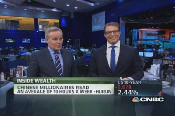 Slowdown in Chinese millionaires