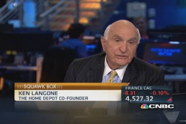 Langone's top stock pick