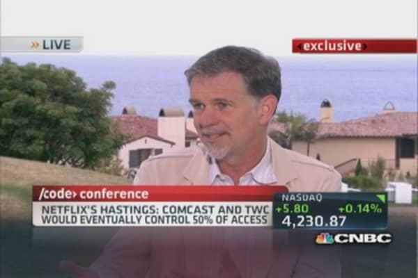 Why Reed Hastings opposes Comcast deal
