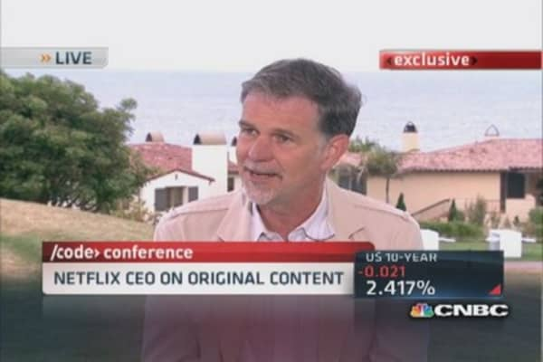 Netflix CEO: Not trying if we don't have failure