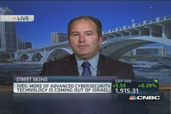 Cybersecurity investments in Israel