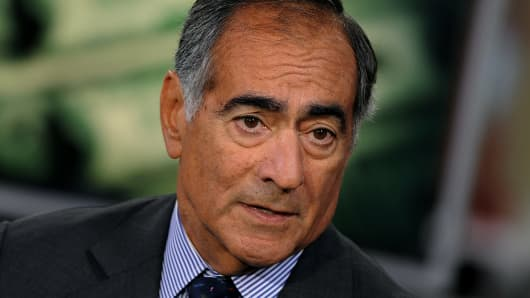 John Mack, former chief executive officer of Morgan Stanley