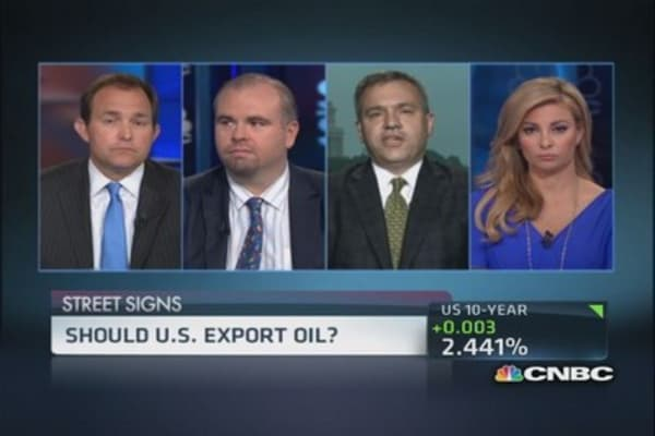 Case for US oil exports