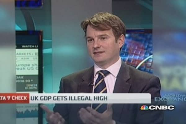 UK GDP to include illegal activities