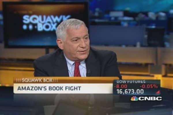 Isaacson on Amazon's book fight