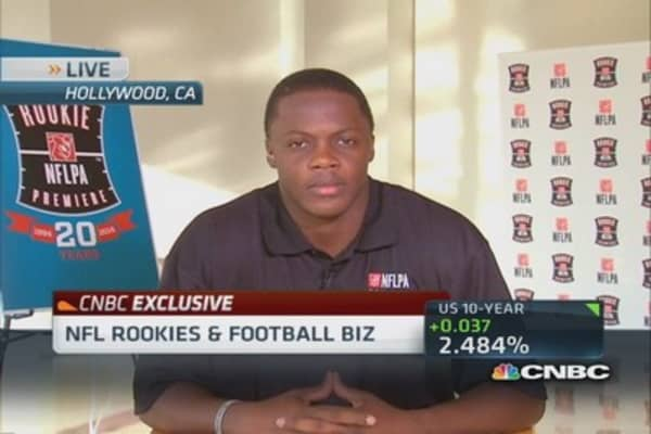 Vikings' Bridgewater on NFLPA rookie premiere