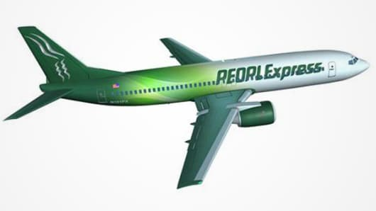 PEOPLExpress airlines re-emerges.