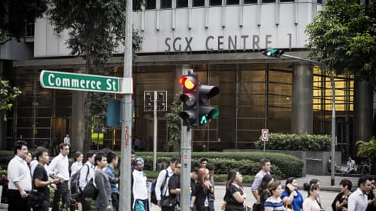 The Singapore Stock Exchange (SGX)