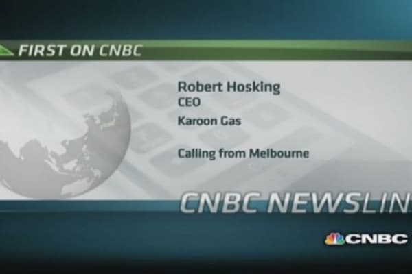 Karoon Gas CEO: We got a realistic price on sale