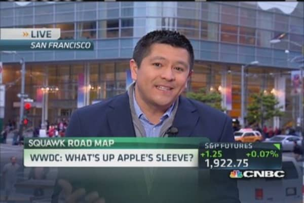 What's up Apple's sleeve?