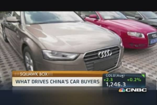 Wooing Chinese auto buyers