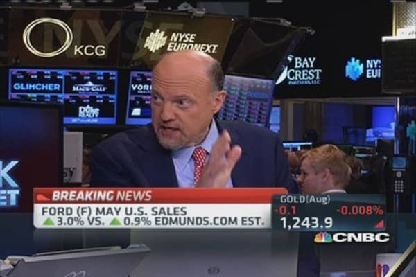 Cramer: GM May sales remarkable