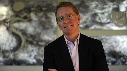 Patrick Mahaffy, President and Chief Executive Officer at Clovis Oncology.