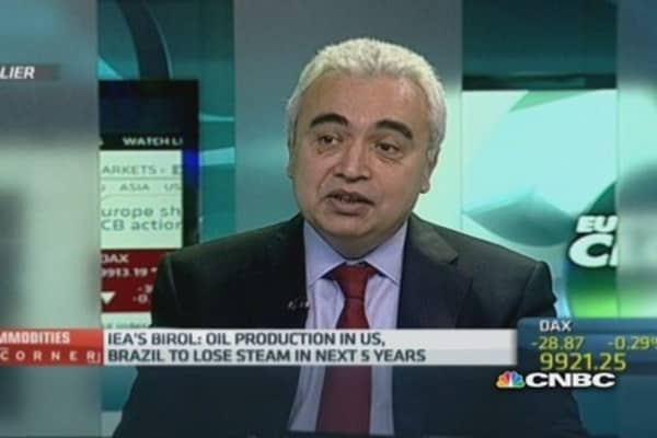 Oil prices will rise $15 by 2025: IEA