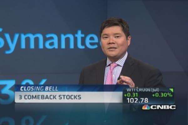 3 rebound stocks