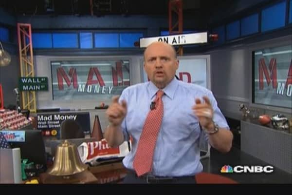 Cramer: Good trend, bad trend