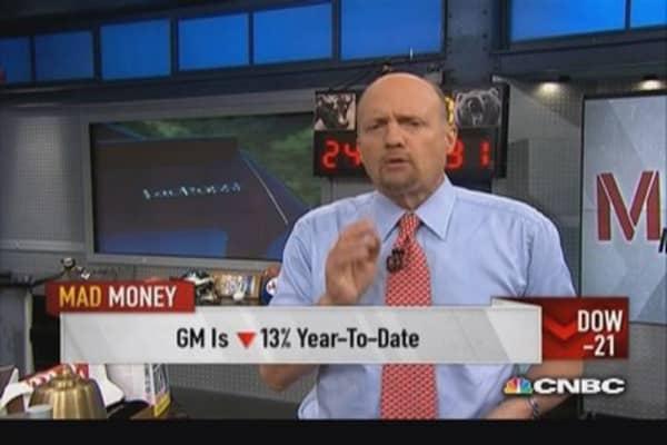 Time to buy GM: Cramer