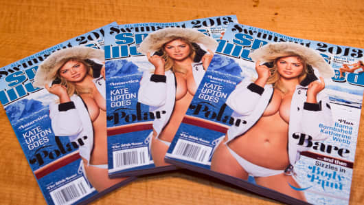 Sports Illustrated Swimsuit Edition from 2013 featuring model Kate Upton on the cover.