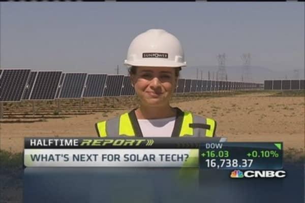 New solar technology
