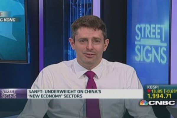Underweight China's new economy sector: StanChart